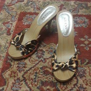 Guess kitten heels